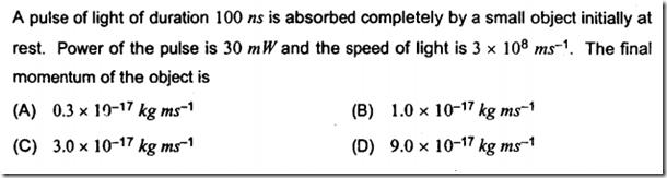JEE Advanced 2013 Modern Physics Problem