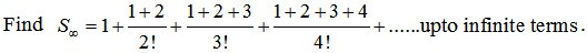 Exponential Series Problem